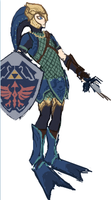 LoZ Twilight Princess -Zora Armour- iScribble by cGeneticist