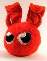 Little Devil Dust Bunny by Jadetiger