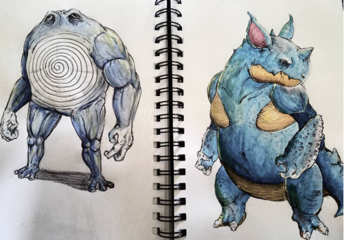 Poliwrath and Nidoqueen by jpizzle6298