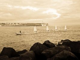 Learning to sail by Sonia-Rebelo