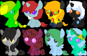 Baby foal adopts (CLOSED) by MephilesfanforSRB2