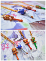 Commission: Sailor Moon Henshin Wands by eserenitia