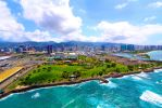 Aerial View Hawaii by manaphoto