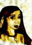 Pocahontas--Painted with Coffee by Suiiening