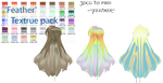 MMD -Feather Texture -DOWNLOAD by MMDFakewings18