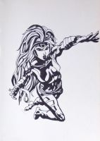Jean Grey from X-men by Laura1531997