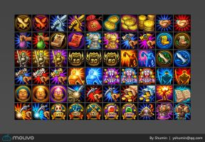 Skill Icons by yshumin