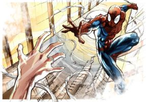 spidey reach by ernanbot