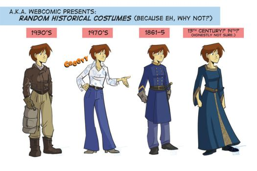 Historical Costume Incentive by ComickerGirl