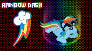 Rainbowdash Wallpaper by MusicPulsePony