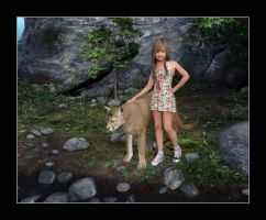 Skyler and Cougar by CitizenOlek