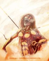 Anger of Titan by Red-Sinistra