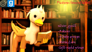 [DL]Silver_Quill by yoksaharat