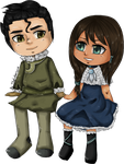 Bolin and Nora by Tikal-chan