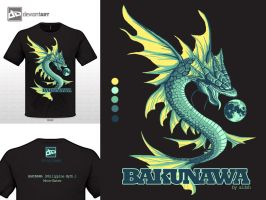 Bakunawa: Moon-Eater 5 colors by aLdsh