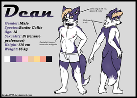 Dean Reference Sheet by Drako1997