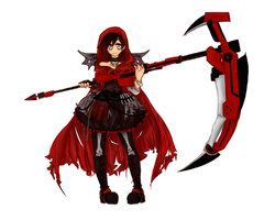 Little Red Reaper by NuukaSnow
