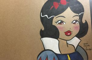 Snow White by ChibiCelina