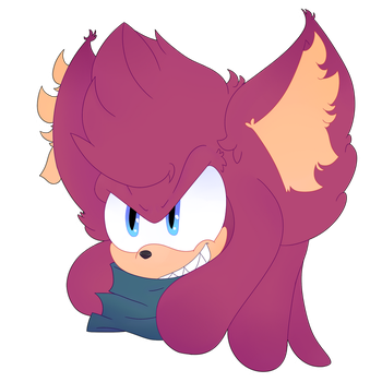 Sonic forces me to draw by SlerpSlapp