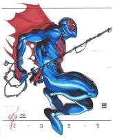 Spider-Man 2099 by roddly