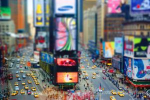 Times Square by P3P70