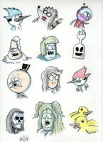 Regular Show Drawings by johnnyism