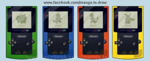 gameboy color pokemon by the-surviver