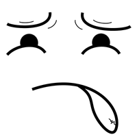 Expressions - Worried/Disgusted by LazuliLupin