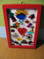Gift - painted glass by lejka