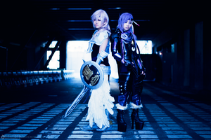 Lightning VS. Caius Ballad by kurozone
