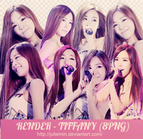 [PNG PACK ] Tiffany #1 render - Girls Generation by JulieMin