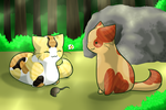 LUtT - Chilling with the Deputy by FlareAKACuteFlareon