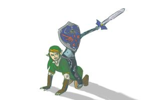And So, They Rode Into Battle (NO NEED FOR EPONA) by LikeNo