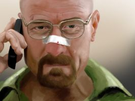 Walter White -  Breaking Bad by Faninhojr