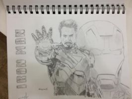 Iron Man by AguilarX