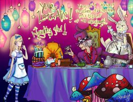Tardy for the Story Tea Party by xtwistedxamayax