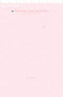 Kawaii pink Journal Skin by angelbunny32
