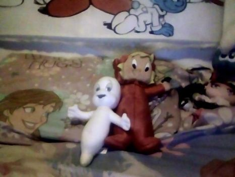 My Casper and Wendy Plushies. by Smurfette123