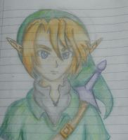 Legend of Zelda: Link ( I can't draw boys. okay?) by ArtySpartyGirl
