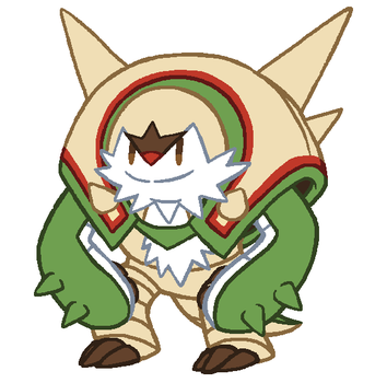 Chesnaught by Tzblacktd