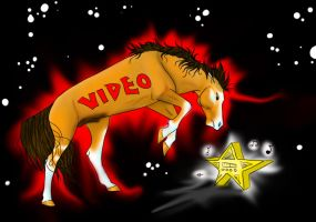 Video killed the radiostar by shadowdachampionpony