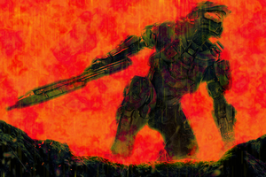 Halo 4_ Volcano by CRL140