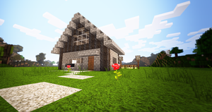 Farmers house :3 by x4ct1on