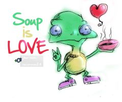 Soup is love by Ce8