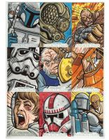 Star Wars sketch cards 3 by JasonGoad