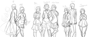 Heathers WIP by Candy-Army