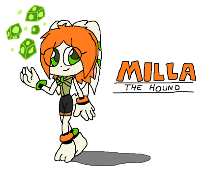 Milla Basset the Hound by Jack-Hedgehog