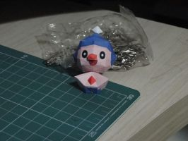 Chibi Mime Jr Papercraft by bslirabsl