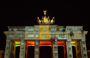 Berlin - Festival of Lights - Brandenburger Tor by DanielDausB