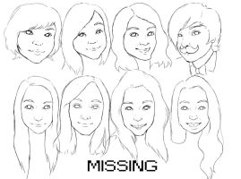 Missing by orangepiano